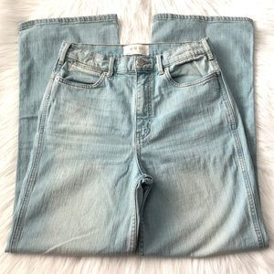 We The Free High Waisted Wide Leg Jeans Size 29
